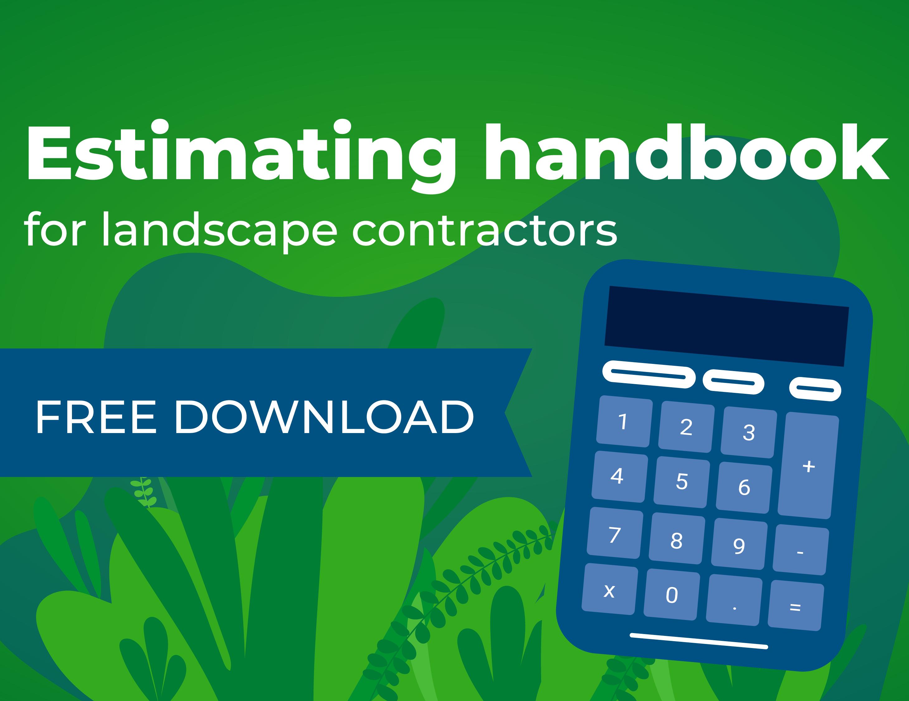 Estimating handbook for landscape contractors