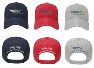 Aspire Landscape Management Software Rally Caps