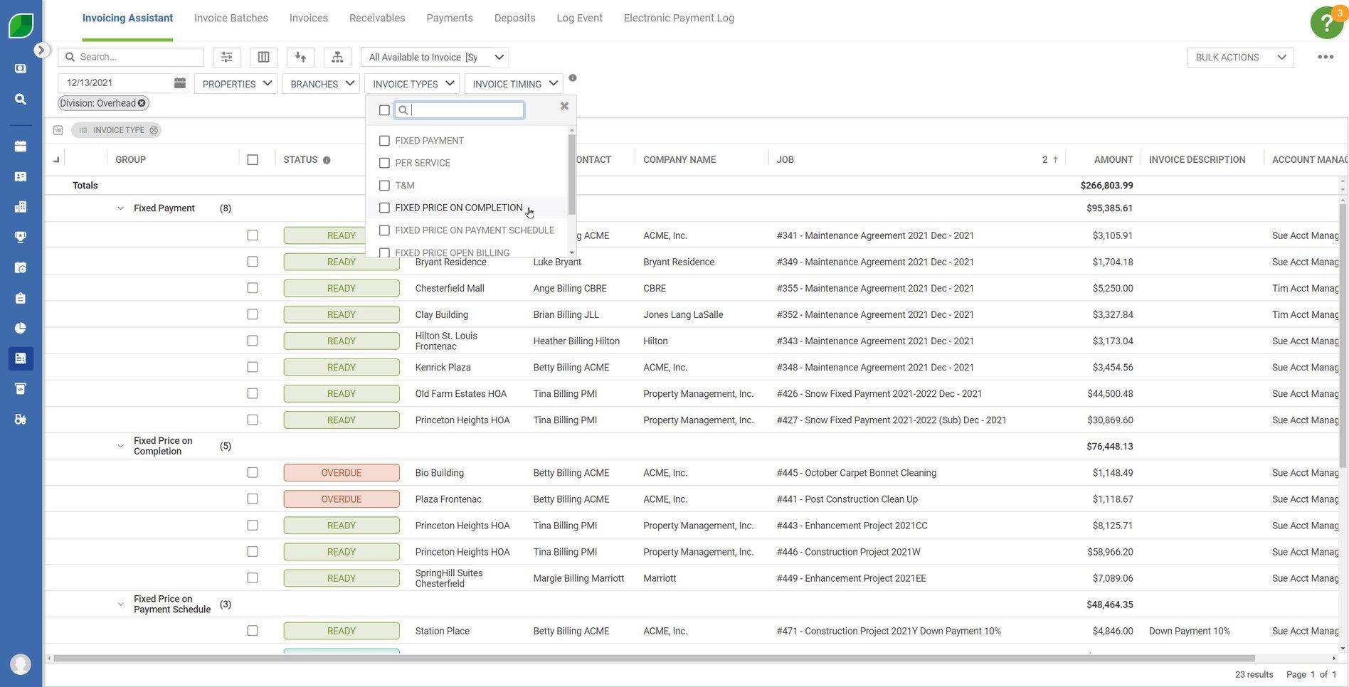 Invoicing AR 01.1