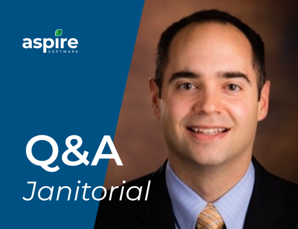 Aspire Janitorial Q&A with product manager Jason Pyne