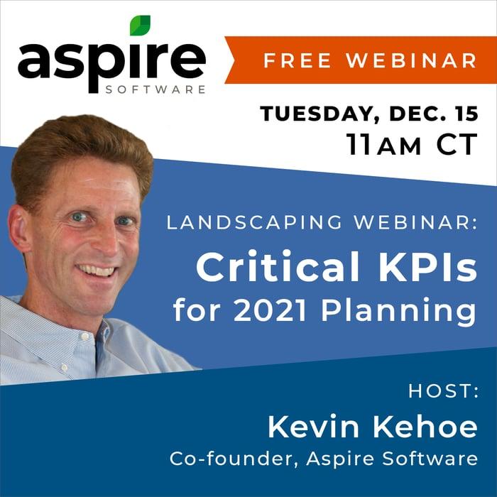 Kevin Kehoe KPIs webinar