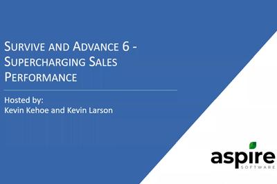 Supercharging Sales Performance - Webinar