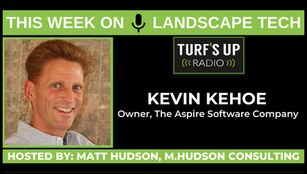 Turf's Up Radio - How Aspire is changing the landscape industry