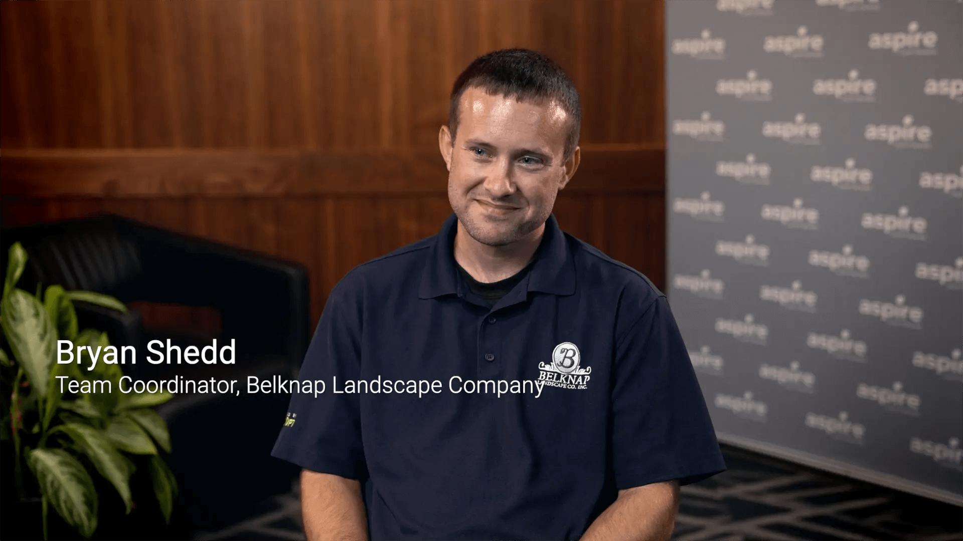 Aspire + Belknap Landscape: Customer testimonial