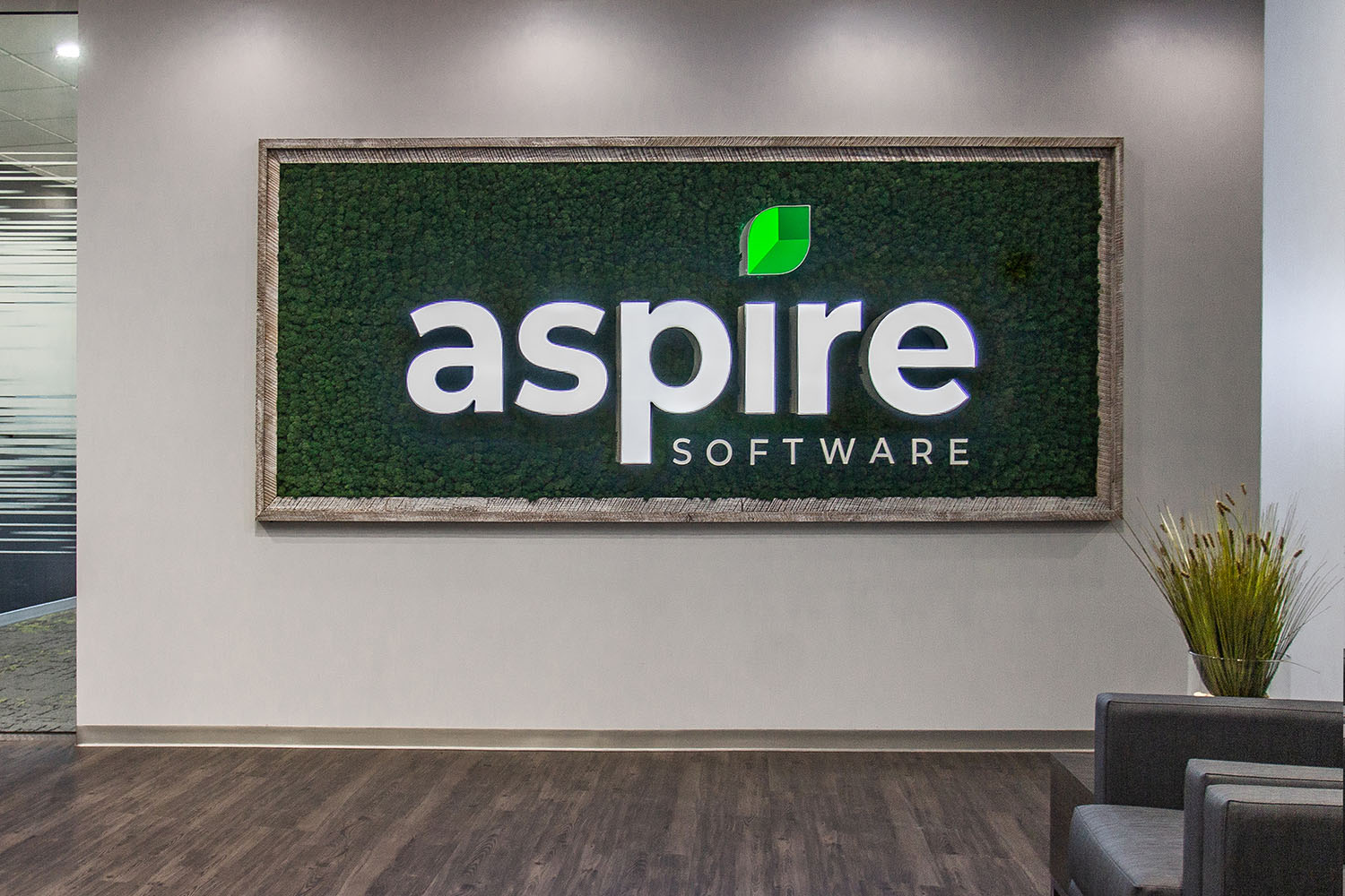 Aspire Software moss sign in office