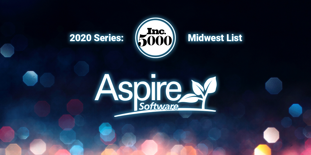 Aspire Ranks Among the 250 Most Successful Companies on the 2020 Inc. 5000 Series: Midwest List